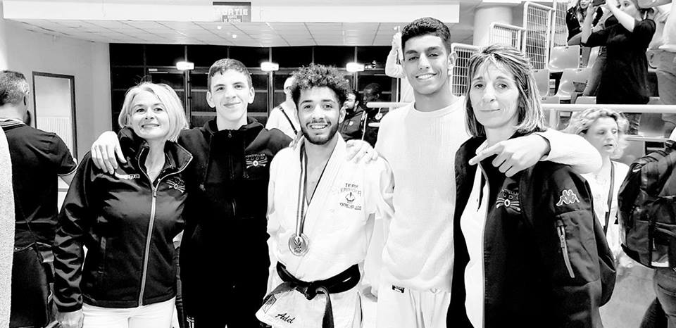 Montpellier Judo Olympic Adel 3e au france junior